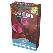 Seed Shaker Mixed Red Annuals Seeds