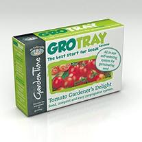 Garden Time Range - GroTray Tomato Gardener's Delight