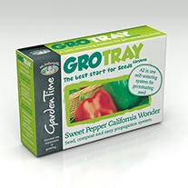 Garden Time Range - GroTray Sweet Pepper California Wonder