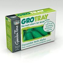 Garden Time Range - GroTray Cucumber Beth Alpha