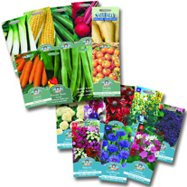 Fothergill's Favourite Flower & Veg Seed Collections