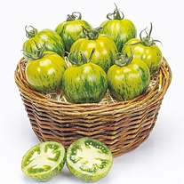 Tomato (Standard) Green Zebra Seeds
