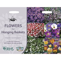 RHS Flowers for Hanging Baskets Collection