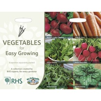 RHS Vegetables for Easy Growing Collection