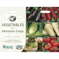 RHS Vegetables for Heirloom Crops Collection