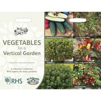 RHS Vegetables for a Vertical Garden Collection