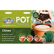 Pot Toppers - Chives Seeds