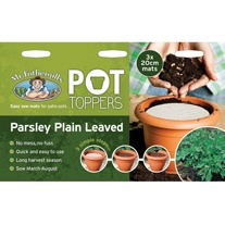 Pot Toppers - Parsley Plain Leaved 2 Seeds
