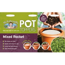 Pot Toppers - Mixed Rocket Seeds