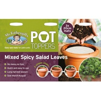 Pot Toppers - Mixed Spicy Salad Leaves Seed