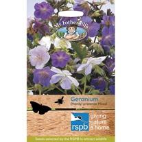 RSPB Geranium (Hardy) pratense Mixed Seeds