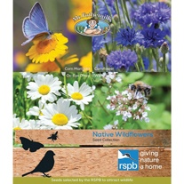 RSPB Native Wildflowers Seeds Collection