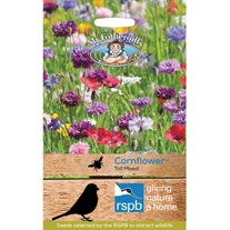 RSPB Cornflower Tall Mixed Seeds