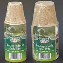 Biodegradable Pots 6cm