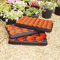 Watering Trays with Capillary Matting