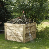 Slot Down Compost Bin