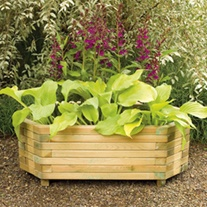 Richmond Wooden Garden Planter