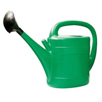 Green Plastic Watering Can 10ltr