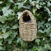 Oval Roosting Bird Nest Pocket
