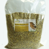 Husk Free Wild Bird Food with insects 3kg