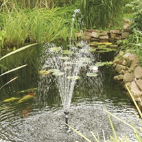 SolarShower 800 Solar Fountain Pond Pump