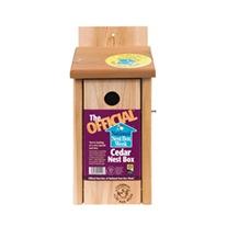 The Official™ Cedar Nest Box 26mm