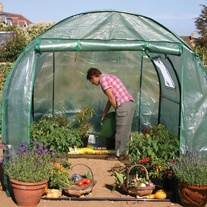 Polytunnel for the Garden and Allotment