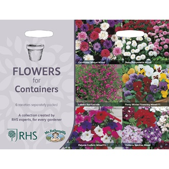 RHS Flowers for Containers Collection