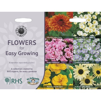 RHS Flowers for Easy Growing Collection