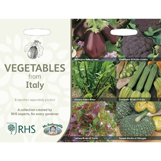 RHS Vegetables from Italy Collection