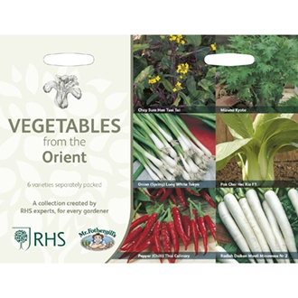RHS Vegetables from the Orient Collection