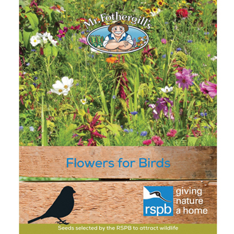 RSPB Flowers for Birds Seed Mix