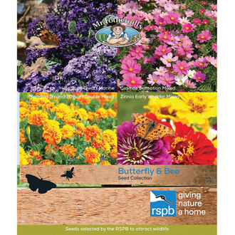 RSPB Butterfly and Bee Attracting Seeds Collection
