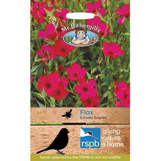 RSPB Flax Scarlet Seeds