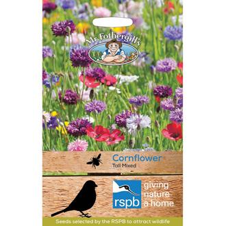 RSPB Cornflower Tall Mixed Seeds