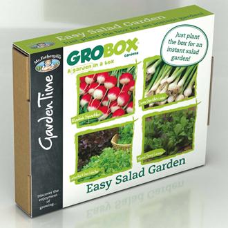 GroBox Gardens - Easy Salad Garden