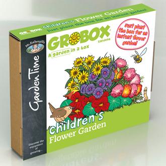GroBox Gardens - Childrens' Flower Garden