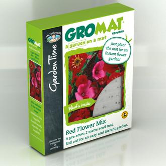 GroMat Gardens - Red Mix