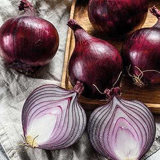 RHS Onion (Globe) Redspark F1 Vegetable Seeds