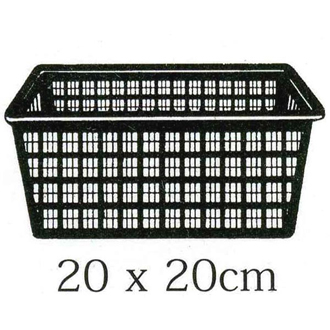 Aquatic 20cm Square Baskets