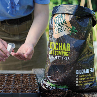 Carbon Gold GroChar Seed Compost