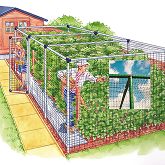 Fruit Cage - Deluxe 6'x18'