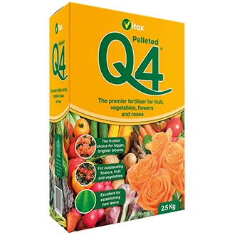 Q4 All-purpose Fertiliser 2.5kg