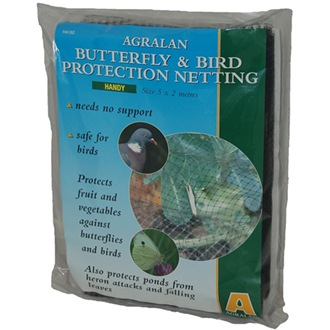 Plant Protection Butterfly & Bird Netting (5x2m)