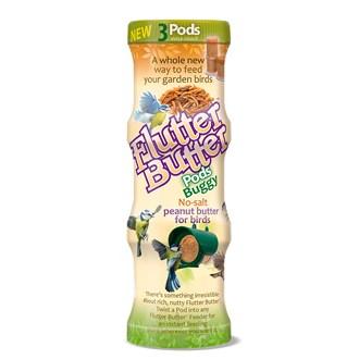 Flutter Butter® Buggy Pods Triple Pack