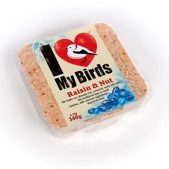 I Love My Birds™ Raisins and Nuts Cakes