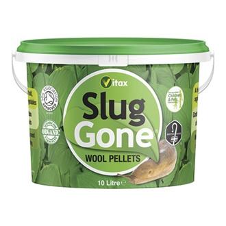 Slug Gone Natural Wool Barrier Pallets 10ltrs