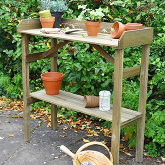 Garden Potting Table