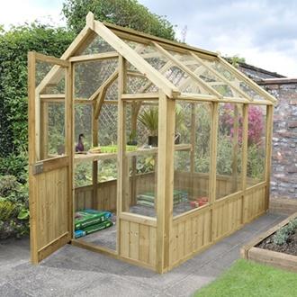 Vale Greenhouse 8 x 6