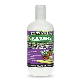 Grazers Cabbage White Butterfly & Caterpillars Deterrent Concentrate
